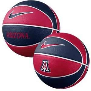 Arizona Wildcats Nike Mini Rubber Basketball  Sports