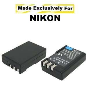 Extended Life Replacement Battery Pack For The Nikon EN EL9 EN EL9a EN