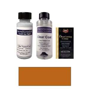 2 Oz. Orange Flame Pearl Paint Bottle Kit for 2012 Volvo
