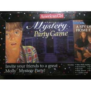 American Girl   Mollys Mystery Party Game: Toys & Games