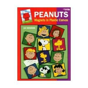 Peanuts Magnets in Plastic Canvas (Leisure Arts #1837