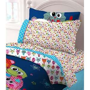 Little Monsters Animals Sheets   Girls 3pc Bedding Sheet
