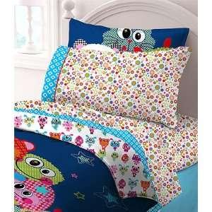 Little Monsters Animals Sheets   Girls 3pc Bedding Sheet