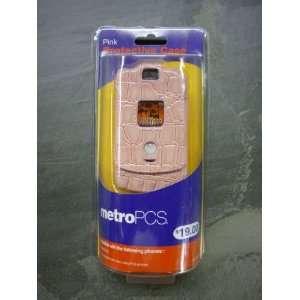 Motorola Razr V3a V3m V3c Pink Gator Case with Belt Clip Cell