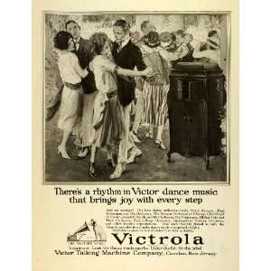 1922 Ad Victor Talking Machines Victrola Record Players