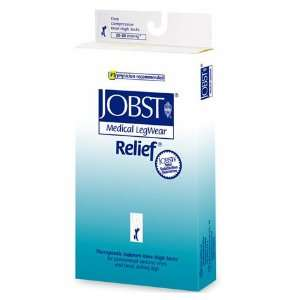 Jobst Relief 15 20 mmHg Knee High Support Socks   Beige