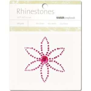 Petal Hot Pink Rhinestones Self Adhesive Arts, Crafts & Sewing