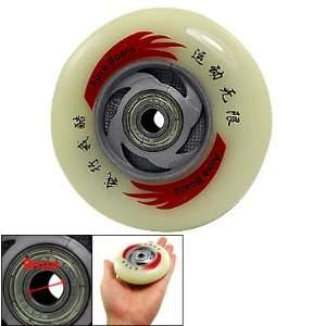 Como Off White Skateboard Replacement Skating Roller Wheel
