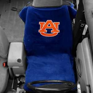 Auburn Tigers Royal Blue Towel Car Seat Cover Sports