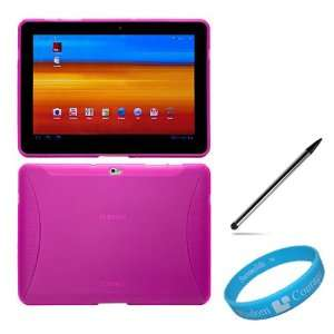 Skin Cover with Side Grip for Samsung Galaxy Tab 10.1 inch Tablet