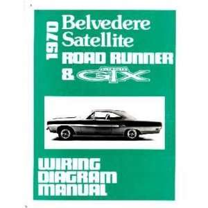 1970 PLYMOUTH BELVEDERE RR SATELLITE Wiring Diagrams: Automotive