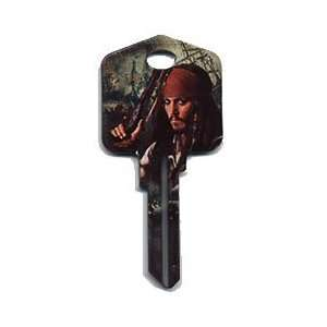 Disney Captain Jack Sparrow House Key Kwikset / Titan