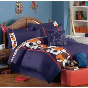 Teen Boys Twin Comforter Set (10 Piece Room In A Bag) Home & Kitchen