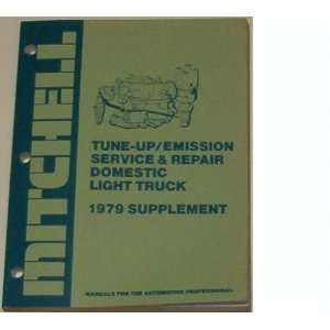 Mitchell Tune up/emission Service & Repair (For Domestic Light Trucks