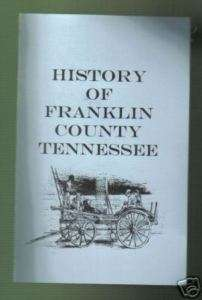History of Franklin County Tennessee