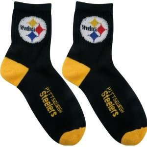 Steelers Team Color Football Socks Mens Medium 5 10