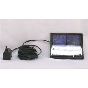 2 Watt Solar Powered Water Pump Patio, Lawn & Garden