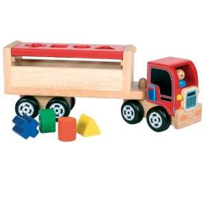 Santa Toys Sorting Blocks Lorry Toys & Games