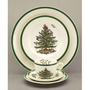 Spode Christmas Tree Salad Plates, Set of 4  Kitchen
