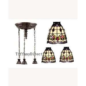 Tiffany Style Stained Glass Pendant Ceiling Lamp C790