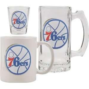Glassware Set 3D Logo Tankard, Coffee Mug, Shot Glass Sports