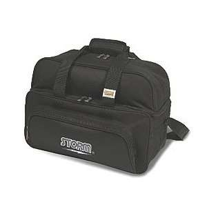 Double Tote Deluxe Black Bowling Bag