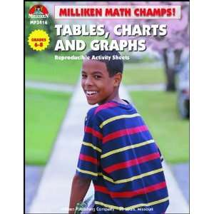 Math Champs! Tables, Charts, & Graphs (9780787704407): Tom