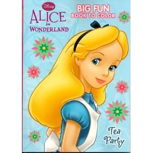 in Wonderland Coloring & Activity Book 96 Pg ~ Tea Party Toys & Games