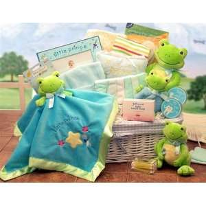 Little Prince or Little Princess Just Hoppin Baby Gift Basket Baby
