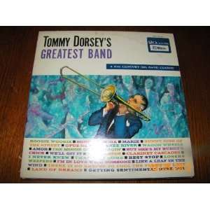 Tommy Dorsey Greatest Band (Vinyl Record) f Music