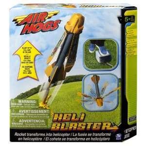 Air Hogs Heli Blaster   Orange  Toys & Games