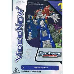 Video Now; Transformers Armada: Overmatch: Toys & Games