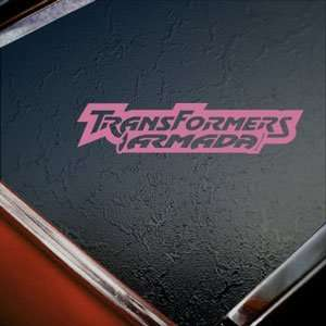 Transformers Pink Decal Armada Car Truck Window Pink