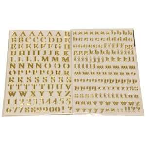 Letters Stickers   2 sheets (1 uppercase / 1 lowercase) Office