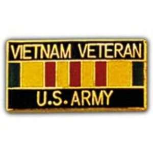 U.S. Army Vietnam Veteran Ribbon Pin 1 Arts, Crafts