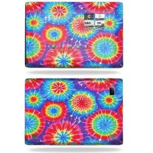 Vinyl Skin Decal Cover for Acer Iconia Tab A500 Tie Dye 1 Electronics