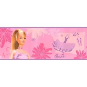 Ballerina Wall Border   Girls 12ft Wallpaper Border Home Improvement