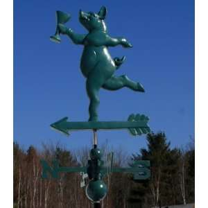SWEET PARTY PIG WEATHERVANE W/DIRECTIONALS 010: Everything