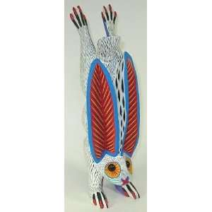 Rabbit Oaxacan Wood Carving 13.25 Inch  Home & Kitchen