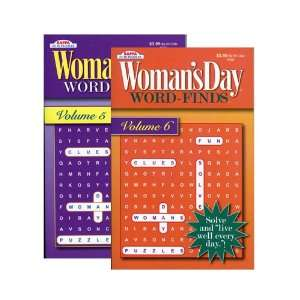 KAPPA Womans Day Word Finds Puzzle Book, Case Pack 24