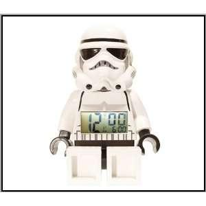 Lego Unisex 9002137 Star Wars Storm Trooper Mini Figure Alarm Clock