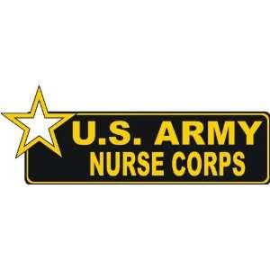United States Army Nurse Corps Bumper Sticker Decal 6