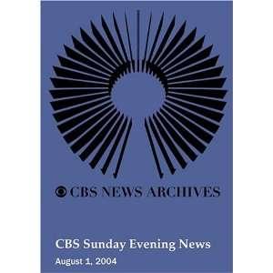 CBS Sunday Evening News (August 01, 2004): Movies & TV
