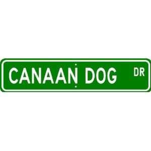 Canaan Dog STREET SIGN ~ High Quality Aluminum ~ Dog Lover