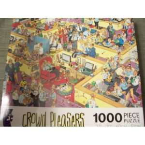 Crowd Pleasers Motorcycle Race 1000 Piece Puzzle Series