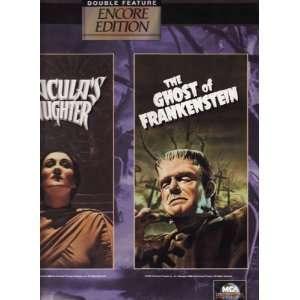 Draculas Daughter  The Ghost of Frankenstein /Encore Edition Digital