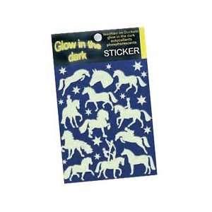 Glow in the Dark Horse Stickers