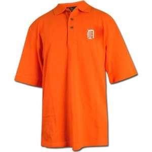 Detroit Tigers Orange (White D Logo) Classic Polo Shirt