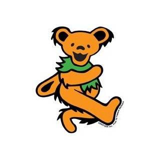 Grateful Dead   Large Green Dancing Bear   Sticker / Decal