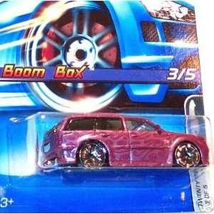 Mattel Hot Wheels 2005 164 Scale Purple Slammed Boom Box
